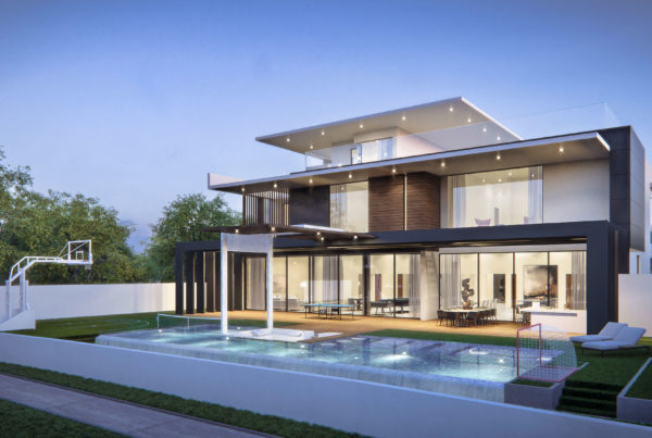 Emirates Hills Villa Architectural Concept Design