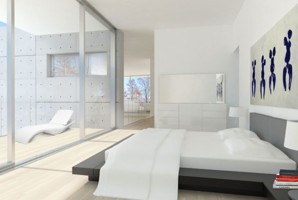 Scandinavian Interior Concept Design Bedroom