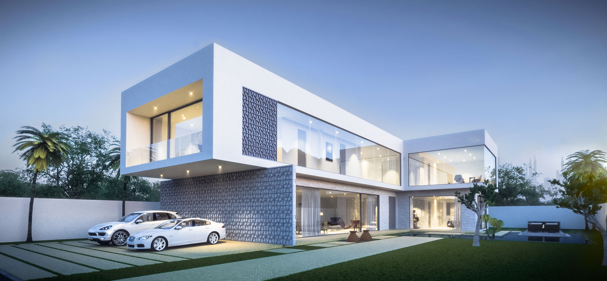 Dubai Villa Architectural Concept Design