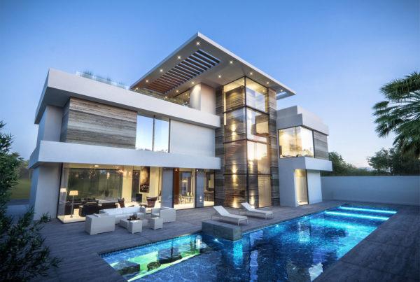 Pearl Jumeirah Villa Architectural Concept Design