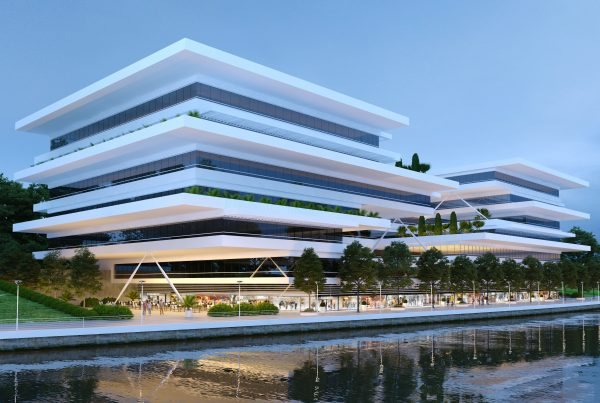 Architectural Concept Design Mixed Use Building