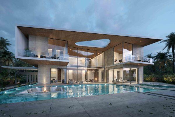 Dubai Hills Villa Architectural Concept Design