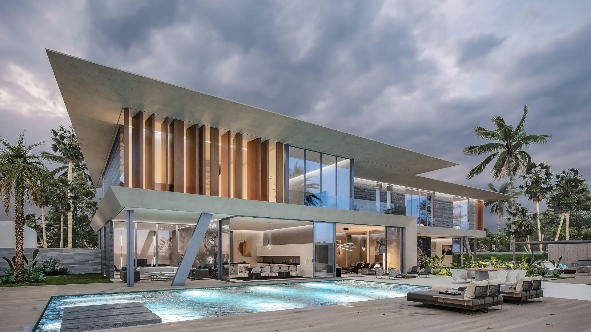 Scandinavian Architectural Concept Design Villa
